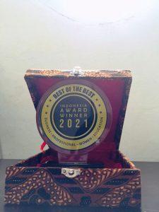 Plakat penghargaan award LSP Transafe
